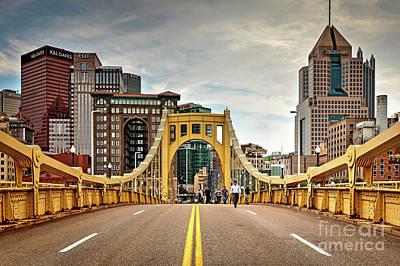 1397 Roberto Clemente Bridge Art Print