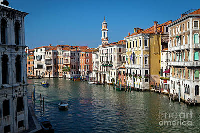 Photograph - 1399 Venice Grand Canal by Steve Sturgill