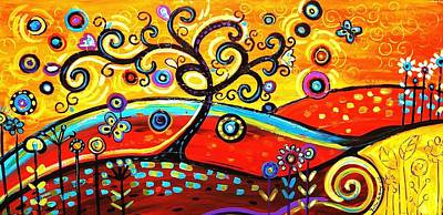 Painting - Abstract Painting  by Jolina Anthony