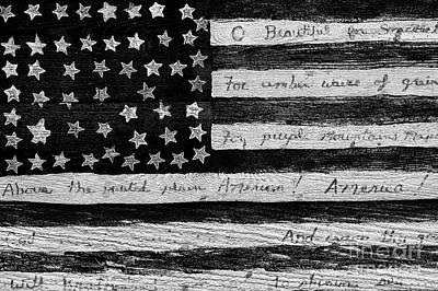 Photograph - American Flag by Jim Corwin