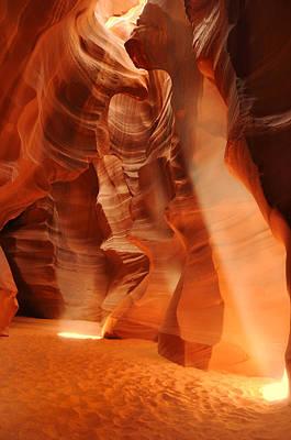 Antelope Canyon Art Print by Jacek Joniec