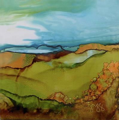 Jazz Art Painting - 14-b Landscape by Jazz Art