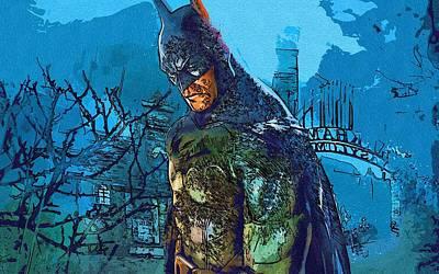 Batman For Art Print by Egor Vysockiy