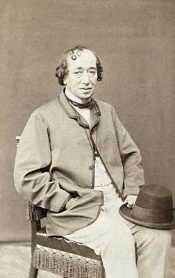 Photograph - Benjamin Disraeli (1804-1881) by Granger