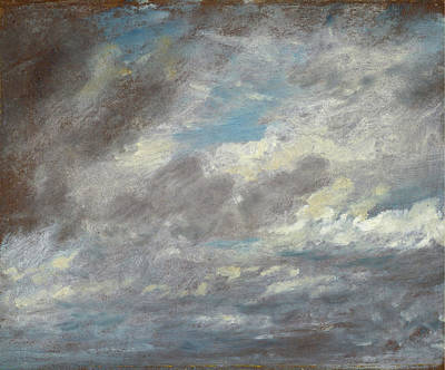 British Painting - Cloud Study by John Constable