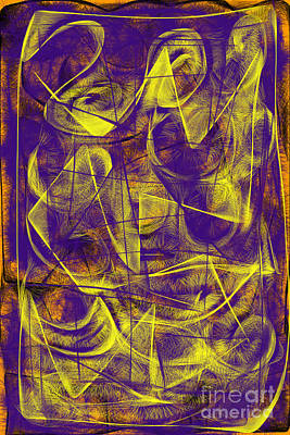 Digital Art - Digital Abstract  by Ania M Milo