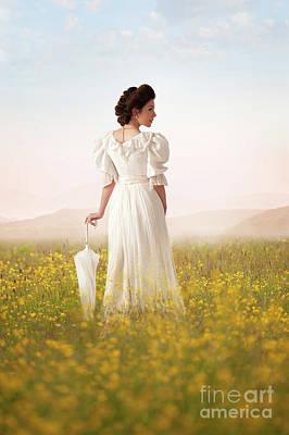 Photograph - Edwardian Woman  by Lee Avison