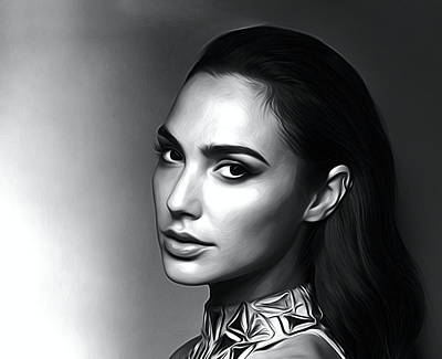 Earnings Digital Art - Gal Gadot Poster by Best Actors