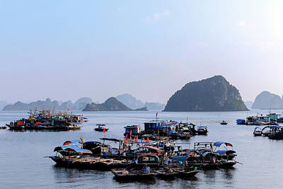 Halong Bay - Vietnam Art Print by Joana Kruse