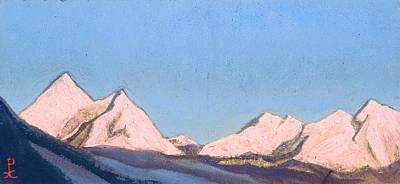 Symbolic Painting - Himalayas by Nicholas Roerich