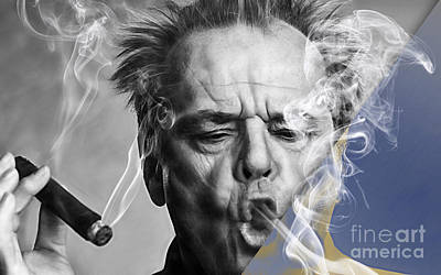 Cool Mixed Media - Jack Nicholson Collection by Marvin Blaine