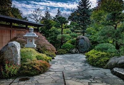 Japanese Garden Print by Bob Nardi