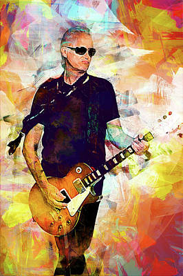 Jimmy Page. Led Zeppelin. Print by Best Actors
