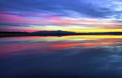 Photograph - Lake Winnipesaukee - Layers by Robert Clifford