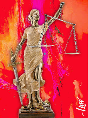 Mixed Media - Law Office Collection by Marvin Blaine
