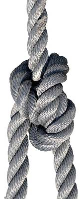 Yachts Photograph - Nautical Knots by George Atsametakis