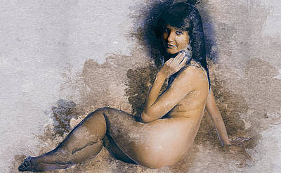 Breasts Digital Art - Nude by Best Actors