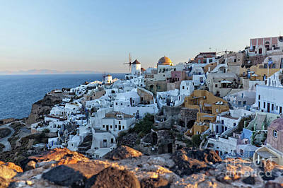 Photograph - Oai Santorini View by Gualtiero Boffi