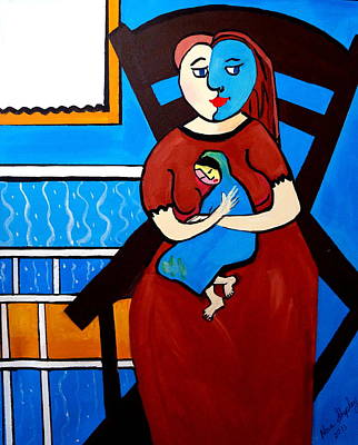 Picasso By Nora Art Print by Nora Shepley