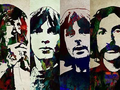 Pink Floyd Digital Art - Pink Floyd by Elizabeth Simon