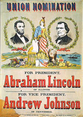 Presidential Campaign, 1864 Art Print by Granger
