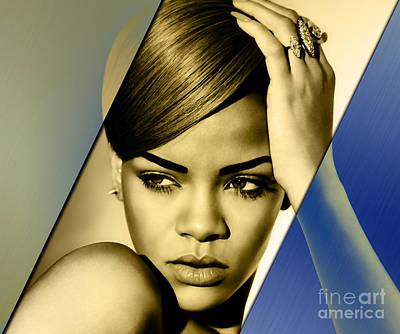 Rihanna Collection Art Print