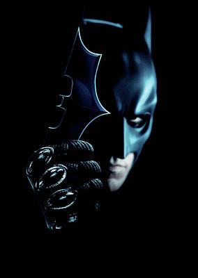 Catwoman Wall Art - Digital Art - The Dark Knight 2008  by Geek N Rock