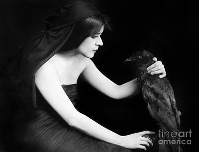 Movie Star Photograph - Theda Bara (1885-1955) by Granger