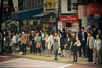 Photograph - Tokyo Street by Songquan Deng