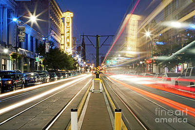 Photograph - 1402 Nfta Trolley In Motion by Steve Sturgill