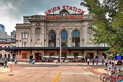 Photograph - 1403 Denver's Union Station by Steve Sturgill