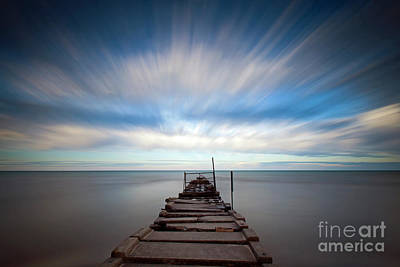 Photograph - 1404 Atwater Beach Jetty by Steve Sturgill