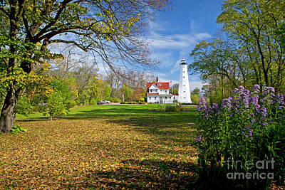 Photograph - 1406 North Point Lighthouse by Steve Sturgill