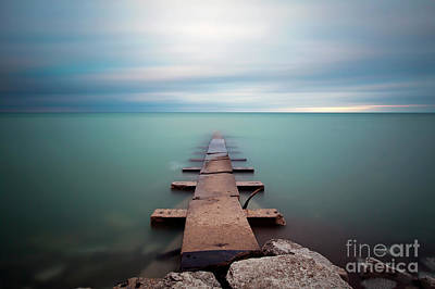 Photograph - 1407 Big Bay Jetty by Steve Sturgill