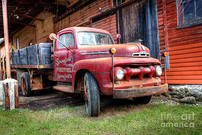 Photograph - 1409 Springfield Lumber Feed And Fuel by Steve Sturgill