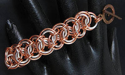 Jewelry - 1411 Double Barrel Bracelet by Dianne Brooks