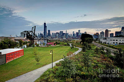 Photograph - 1411 Pathway To Chicago by Steve Sturgill