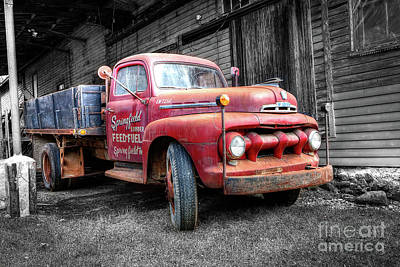 Photograph - 1411 Springfield Lumber Feed And Fuel by Steve Sturgill