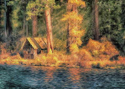 Digital Art - Metolius Autumn by Bill Johnson