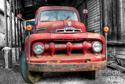 Photograph - 1412 Built Ford Tough by Steve Sturgill