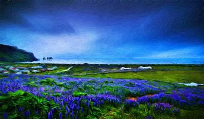 Nature Painting - Nature Landscape Graphics by Margaret J Rocha