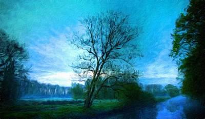 Cloud Painting - Nature Landscapes Prints by Margaret J Rocha