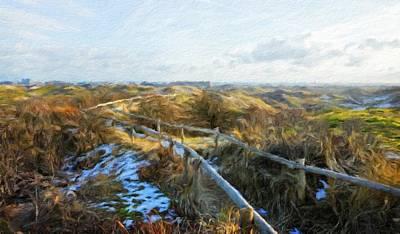 Lake Painting - Nature Landscape Jobs by Margaret J Rocha