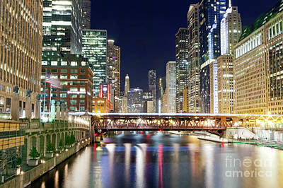 Photograph - 1433 Chicago River by Steve Sturgill