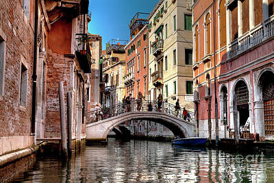 Photograph - 1443 Venice Canal by Steve Sturgill