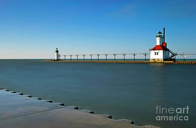 Photograph - 1446 St. Joseph Michigan Lighthouse by Steve Sturgill