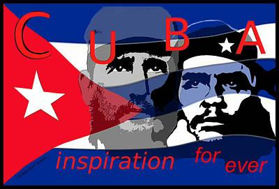 Digital Art - 1447 Cuba by Irmgard Schoendorf Welch