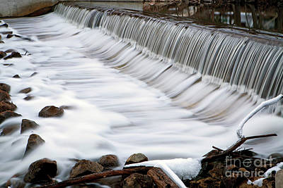 Photograph - 1447 Mill Race Waterfall by Steve Sturgill