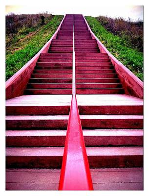 145 Steps To Monks Mound Art Print by John McGarity