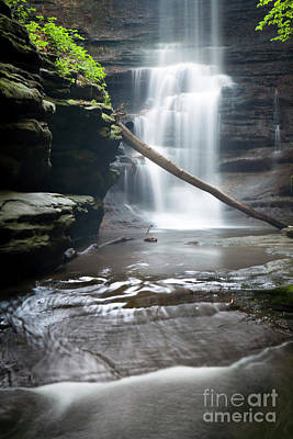 Photograph - 1453 Lake Falls by Steve Sturgill